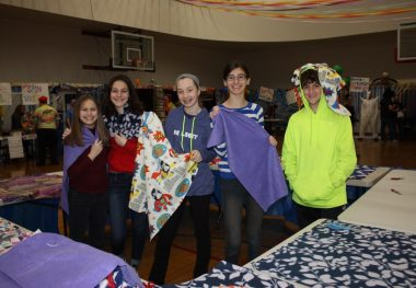 Teen Ties Together Friends and Philanthropy