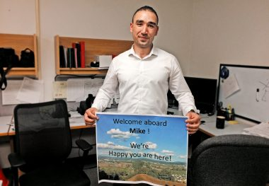 A Refugee Returns to His Professional Path