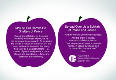 Planting Seeds of Justice, Peace for DV Survivors This Sukkot