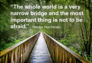 Mental illness can make the narrow bridge of life feel even more narrow.