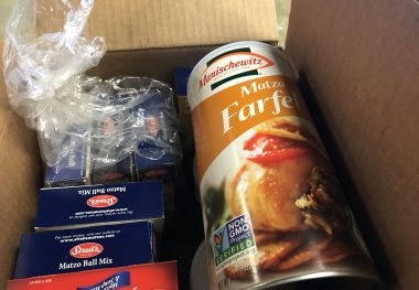 Kosher for Passover Foods in the Polack Food Bank