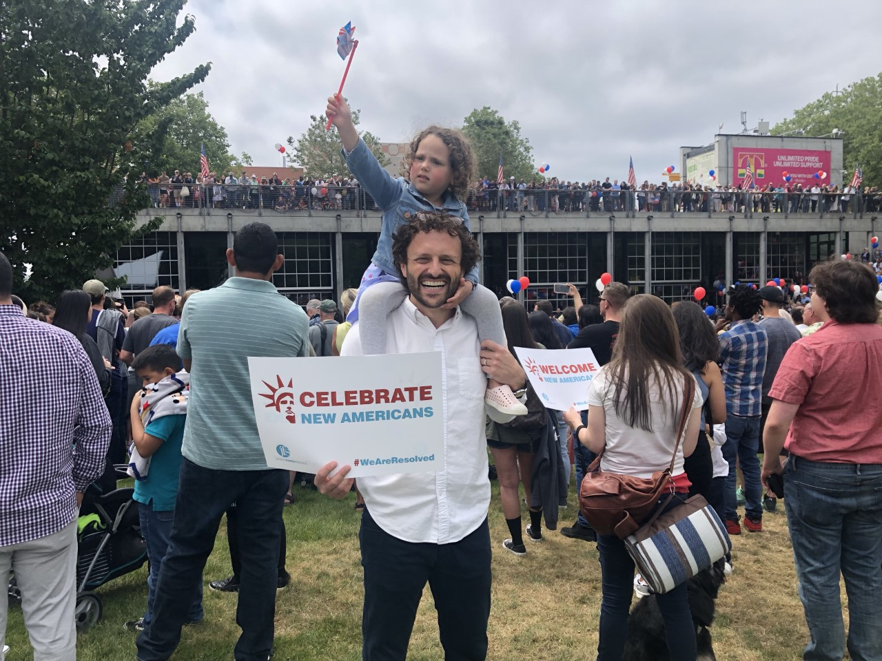 Celebrating New Americans on the Fourth of July